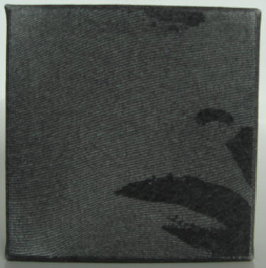 """ava"" - acryl/mischtechnik auf leinwand - 10 x 10 x 4 cm"