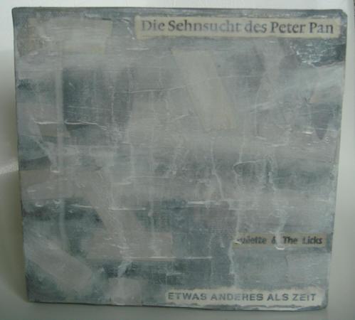 """""""etwas anderes"""" - acryl/mischtechnik auf leinwand - 15 x 15 cm"""