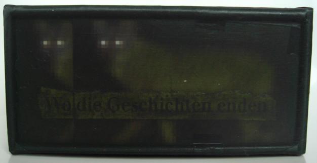 """""""im wald"""" - acryl/mischtechnik auf leinwand - 10 x 20 x 5 cm"""