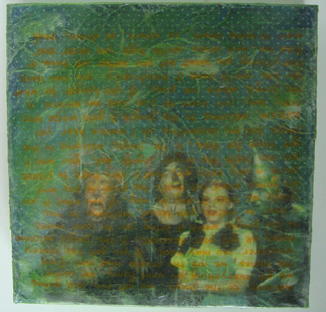 """oz"" - acryl/mischtechnik auf leinwand - 20 x 20 cm"