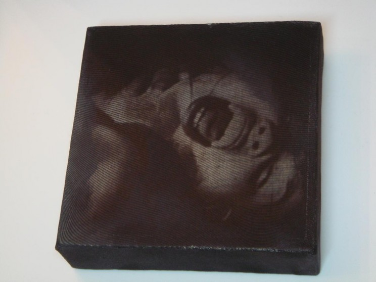 """lollipop"" - acryl/mischtechnik auf leinwand - 15 x 15 cm"