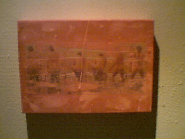 """mexico"" - acryl/mischtechnik auf leinwand - 21 x 28 cm"