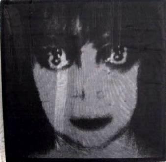"""o. t."" - acryl/mischtechnik auf leinwand - 15 x15 cm"