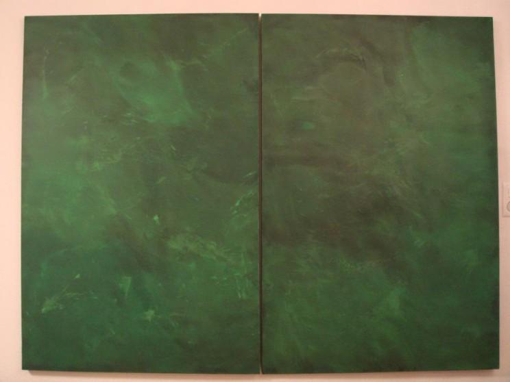 """""""tales of high fever"""" - acryl auf leinwand - 2-teilig, je 100 x 150 cm"""