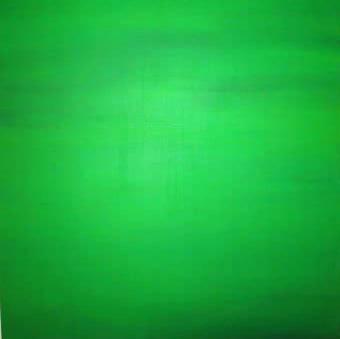 """viereckiges kleeblatt"" - acryl auf leinwand - 100 x 100 cm"