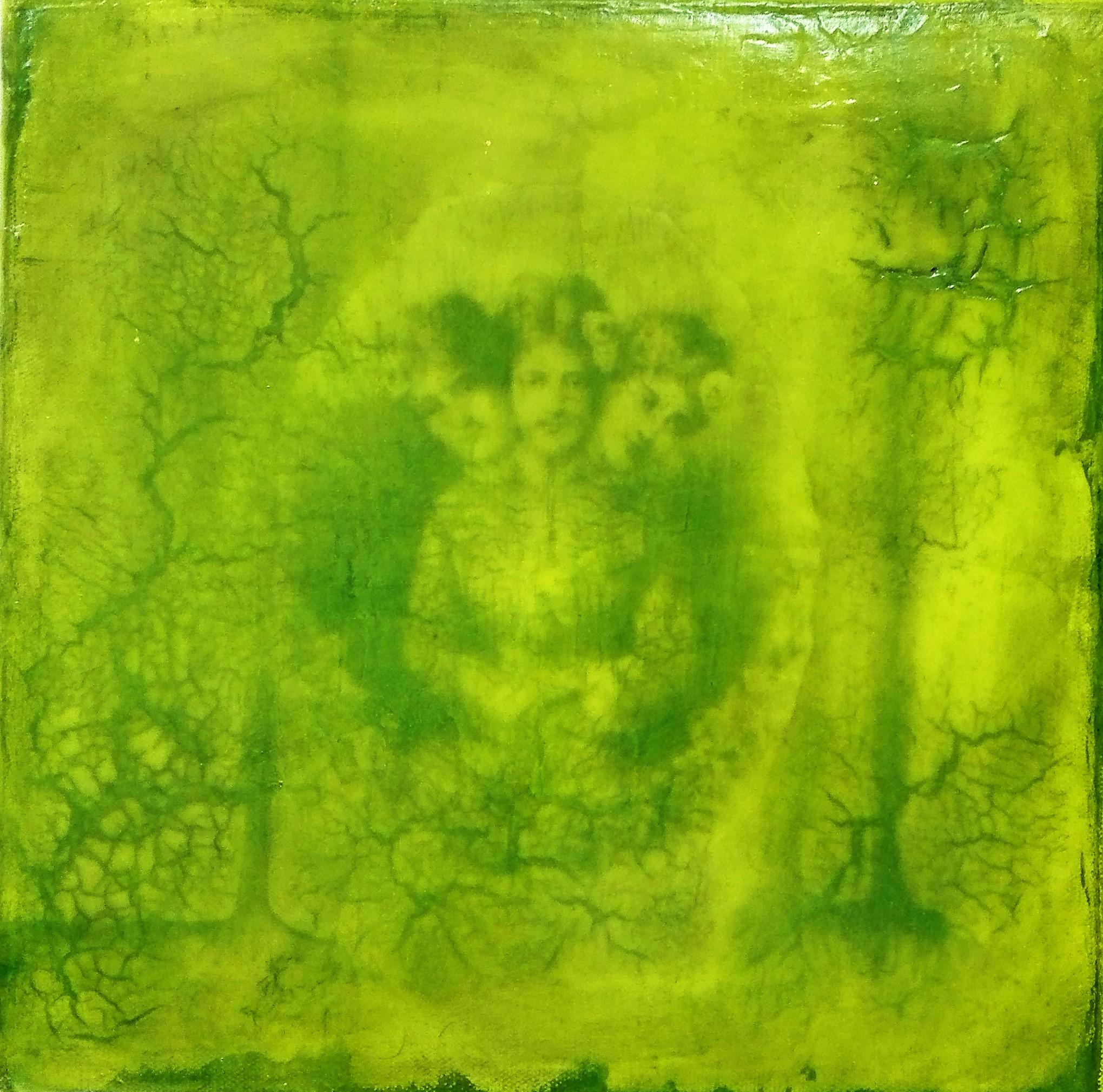 """""""o.t."""" - acryl, kunstharz auf leinwand - 30 x 30 cm"""